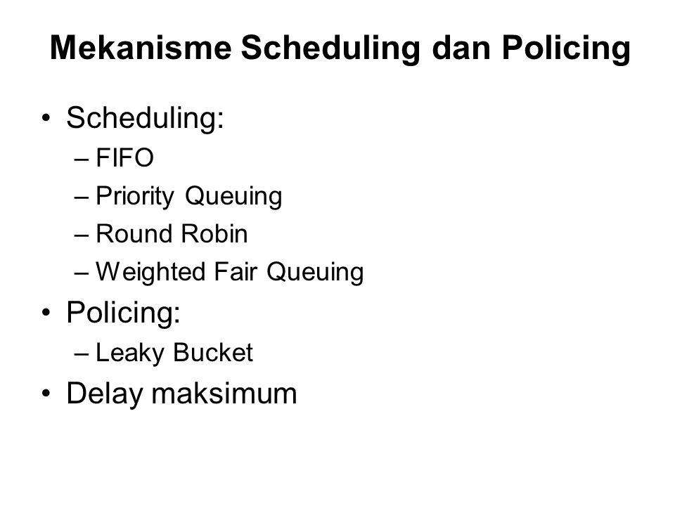 Mekanisme Scheduling dan Policing