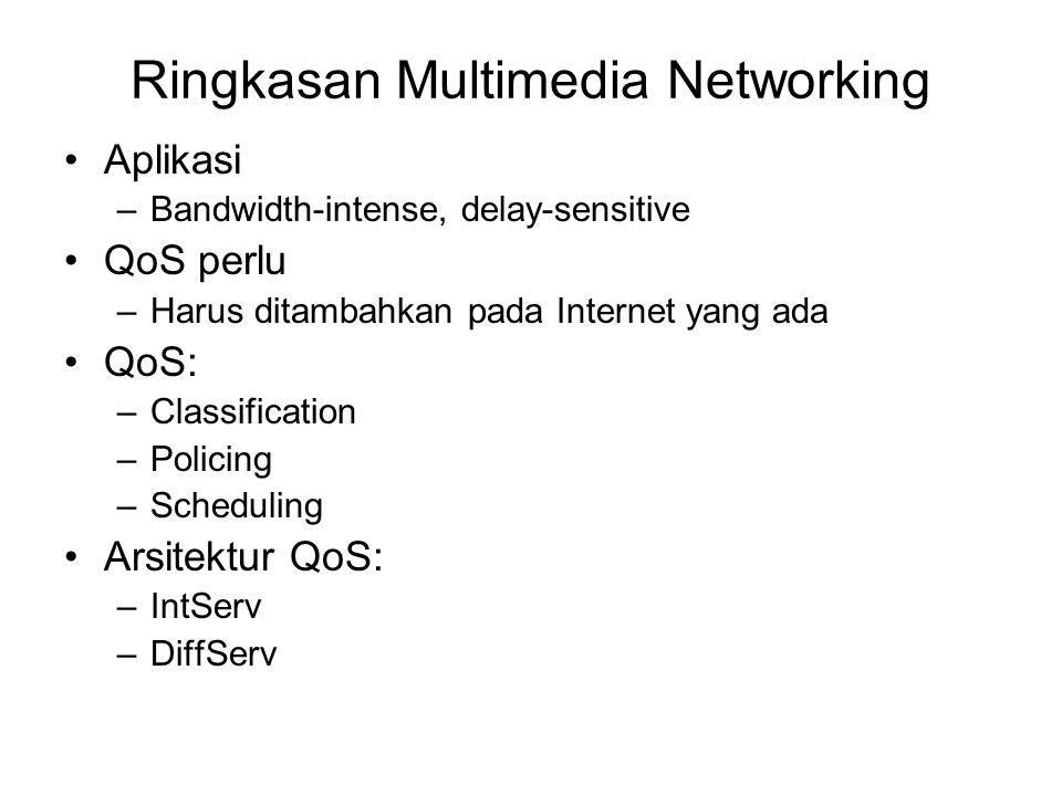 Ringkasan Multimedia Networking