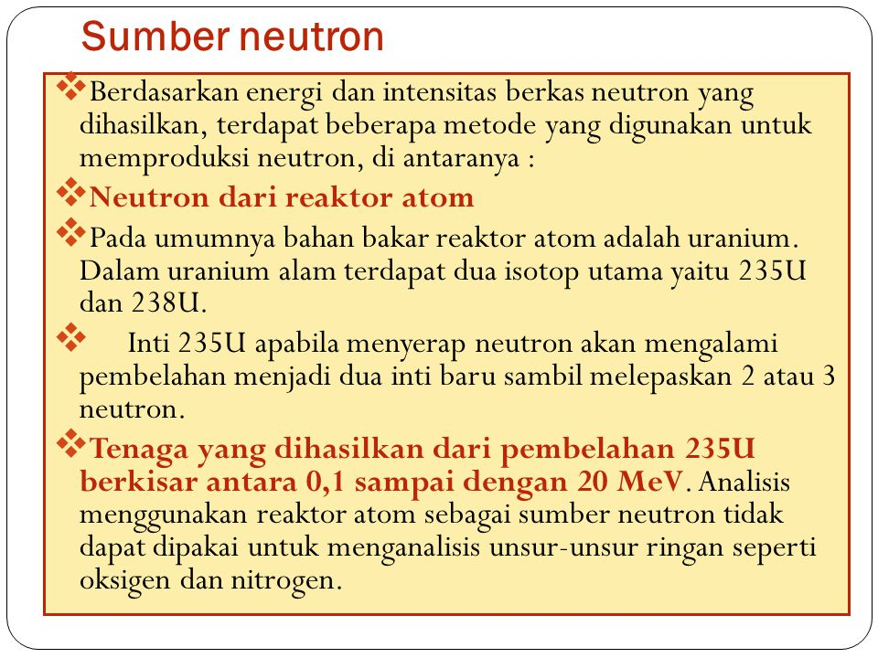 Sumber neutron