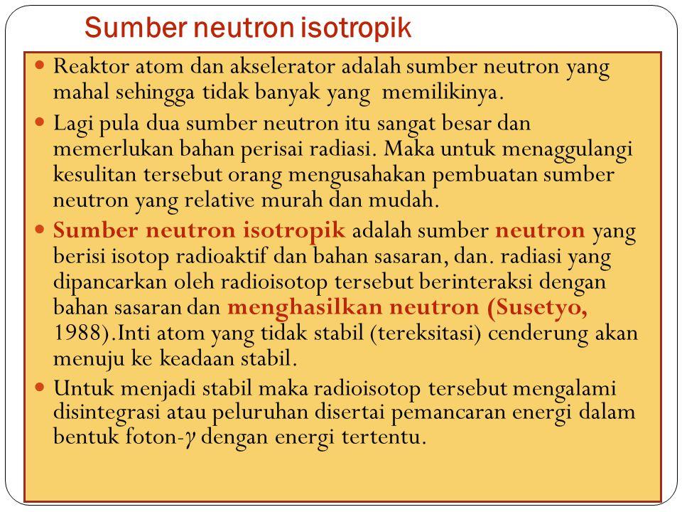 Sumber neutron isotropik