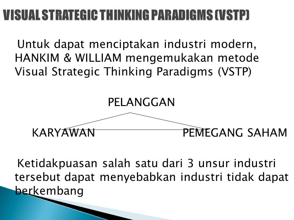 VISUAL STRATEGIC THINKING PARADIGMS (VSTP)