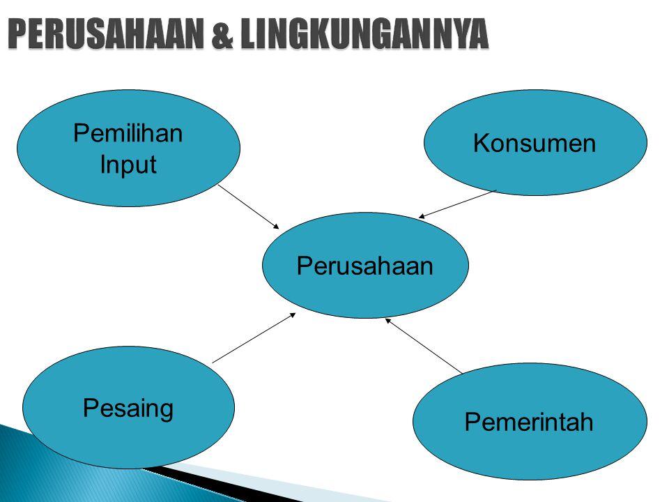 PERUSAHAAN & LINGKUNGANNYA