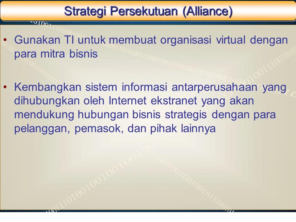 Strategi Persekutuan (Alliance)