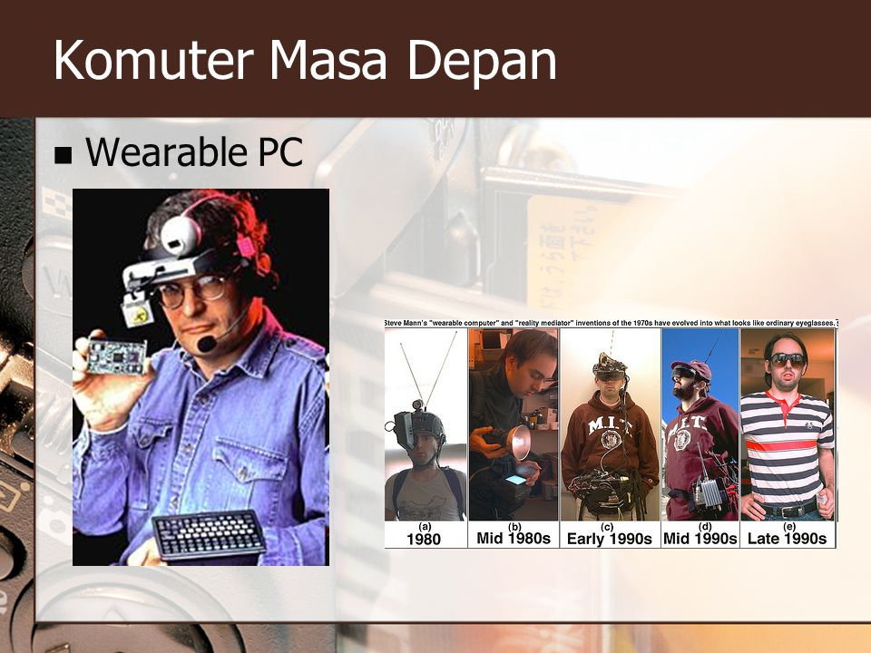 Komuter Masa Depan Wearable PC