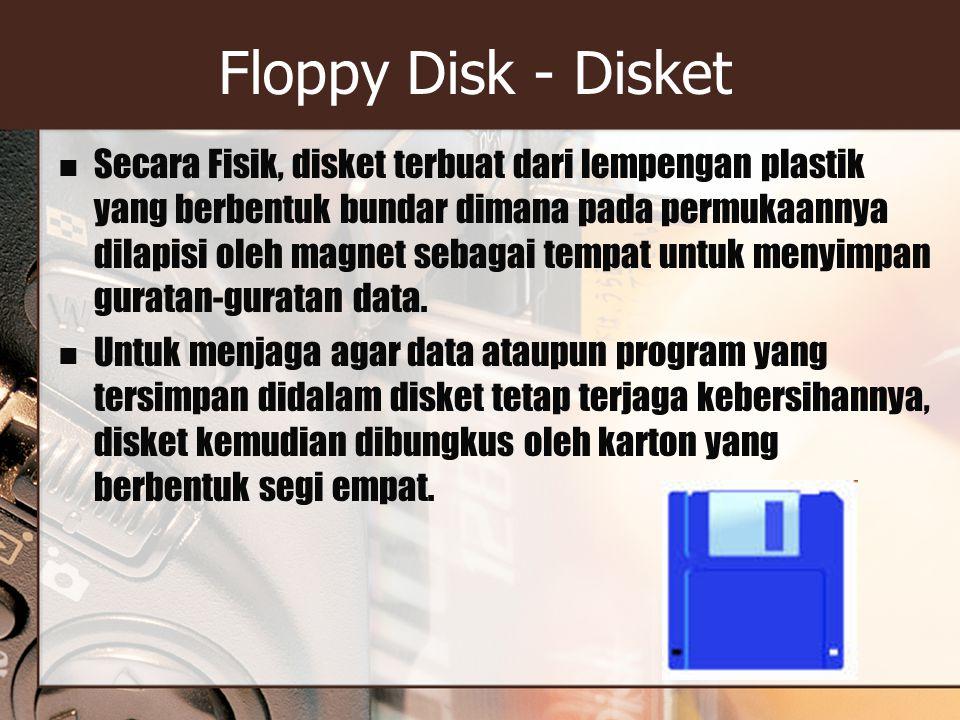 Floppy Disk - Disket