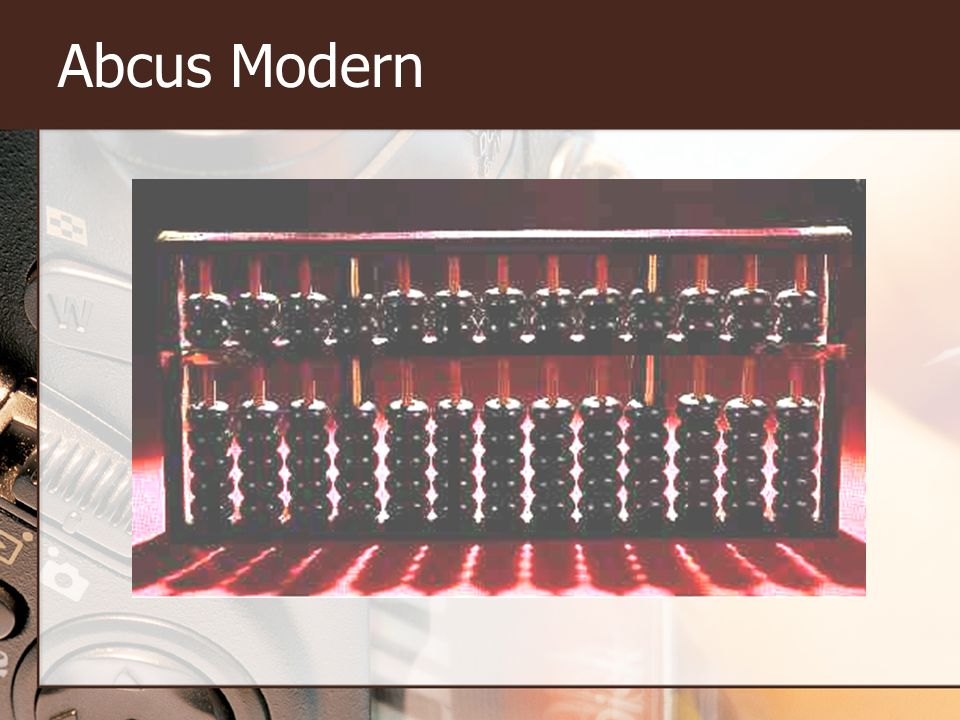 Abcus Modern