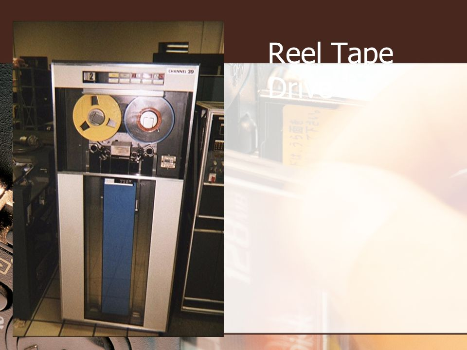 Reel Tape Drive