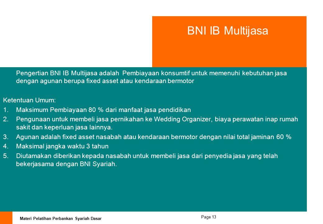 BNI IB Multijasa