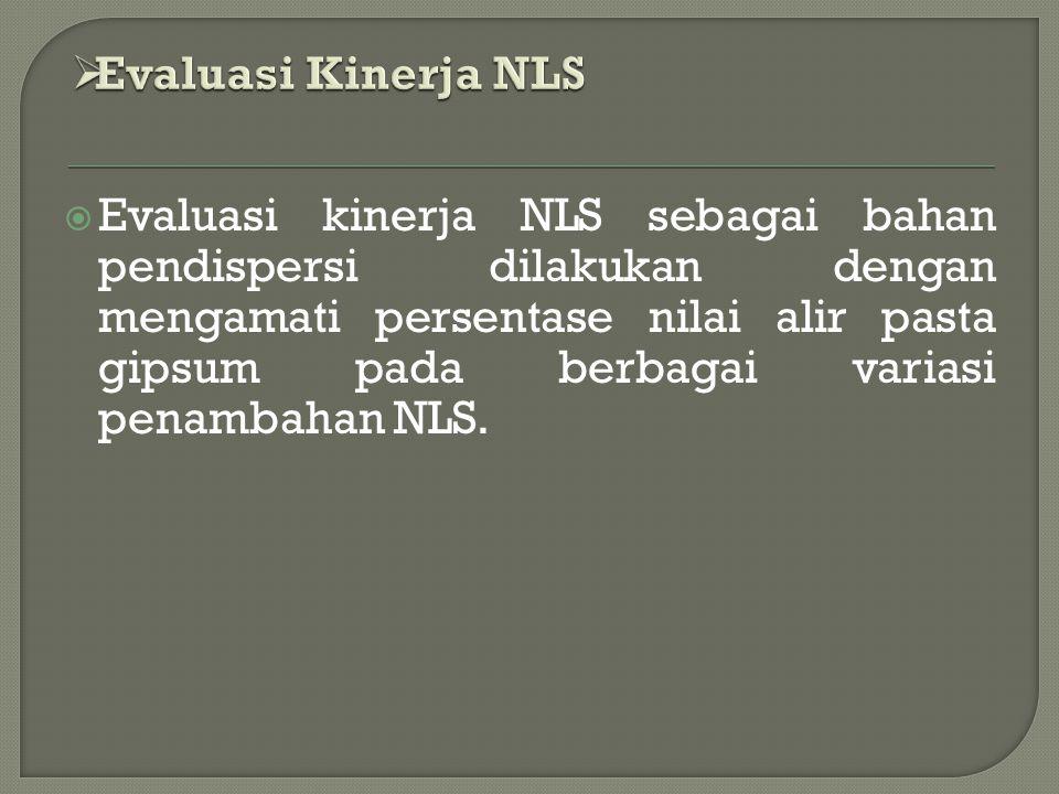 Evaluasi Kinerja NLS