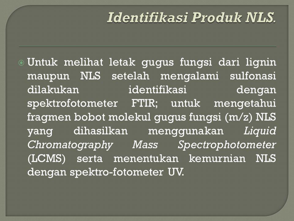Identifikasi Produk NLS.