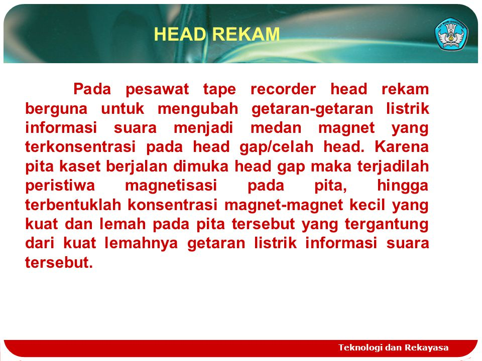 HEAD REKAM