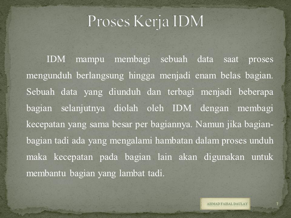 Proses Kerja IDM