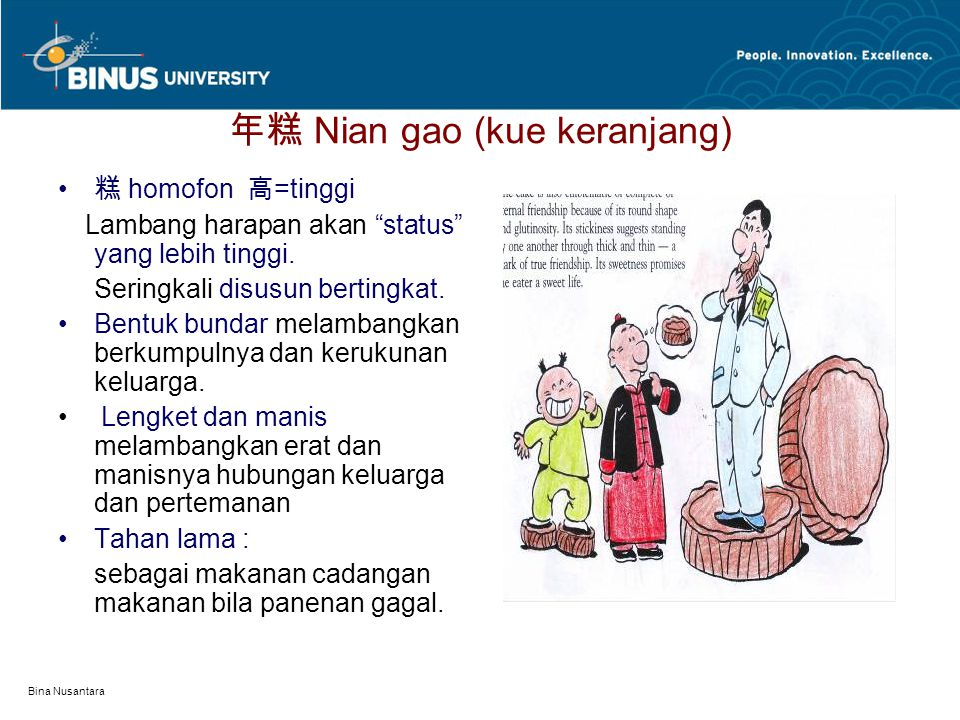 年糕 Nian gao (kue keranjang)
