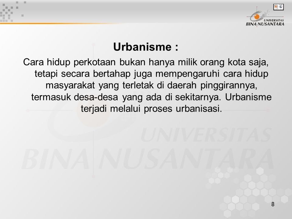 Urbanisme :