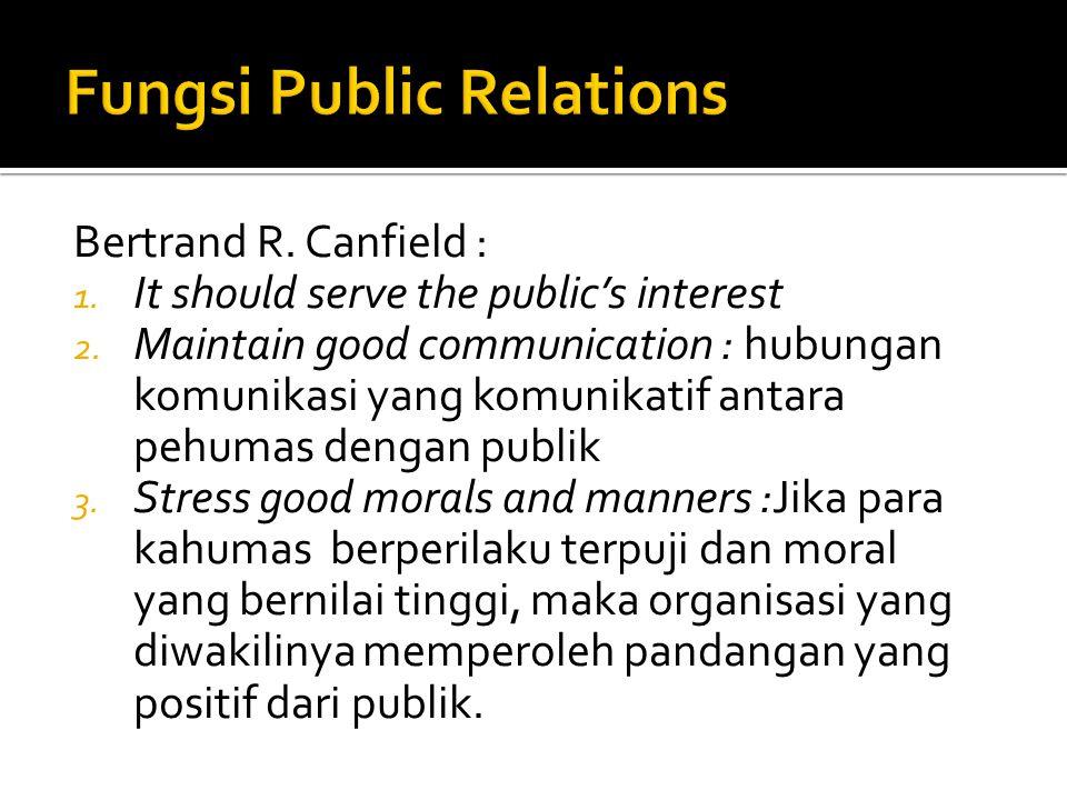 Fungsi Public Relations