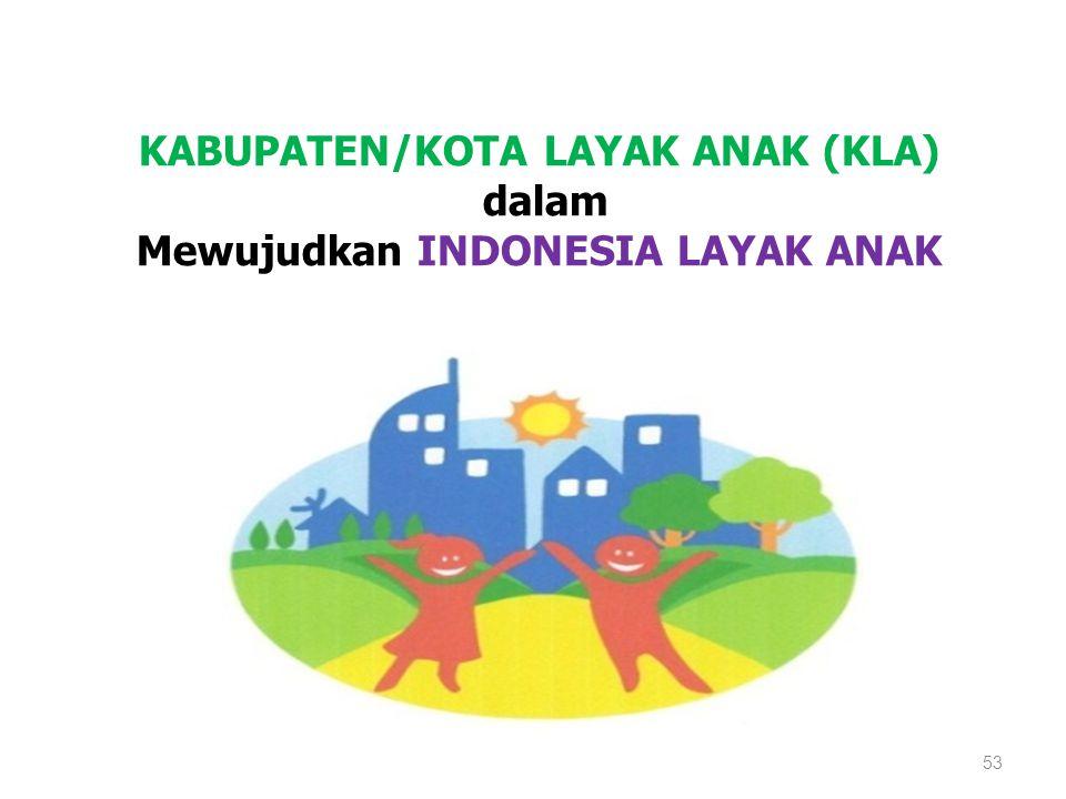 Mewujudkan INDONESIA LAYAK ANAK