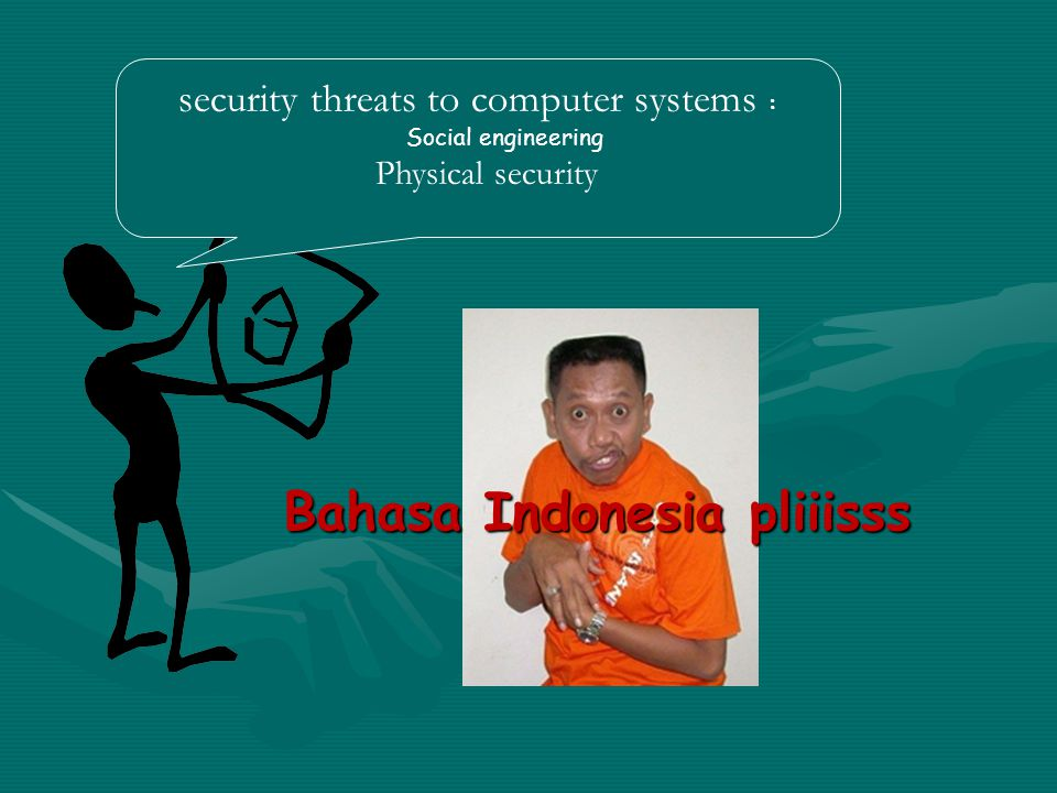 security threats to computer systems :