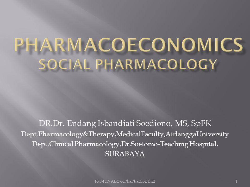 PharmacoeconomiCS Social Pharmacology