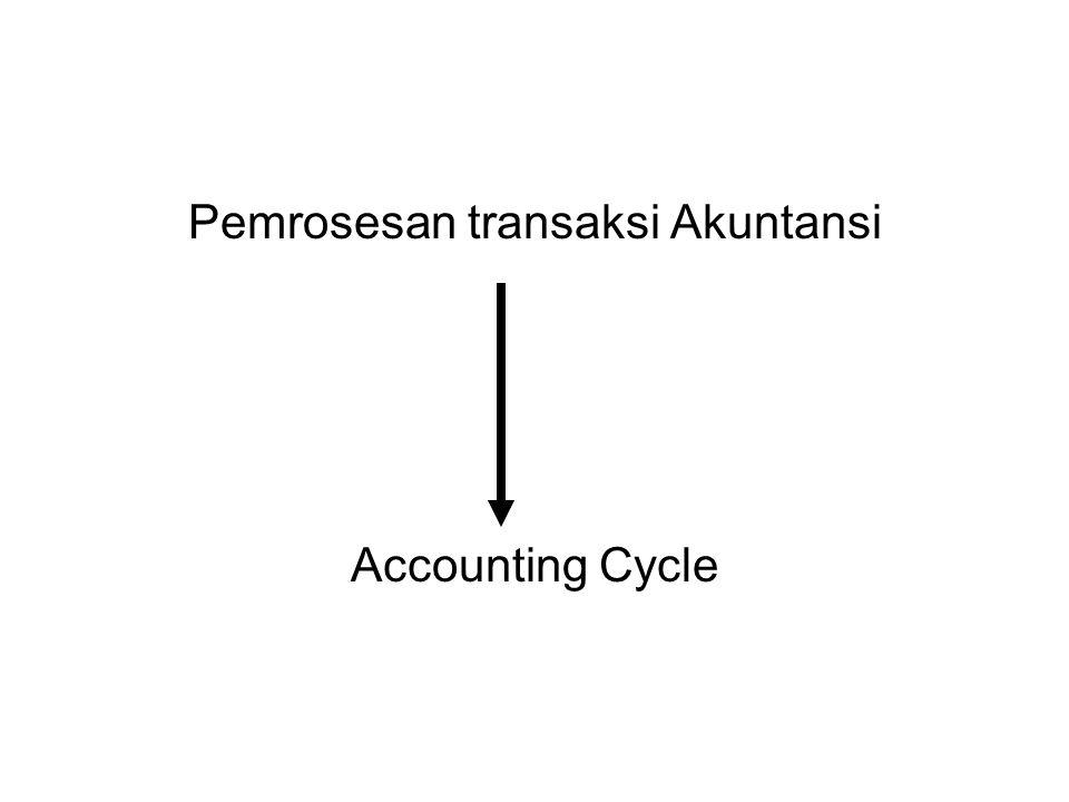 Pemrosesan transaksi Akuntansi