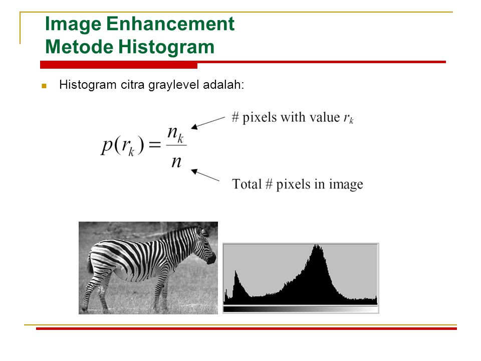 Image Enhancement Metode Histogram