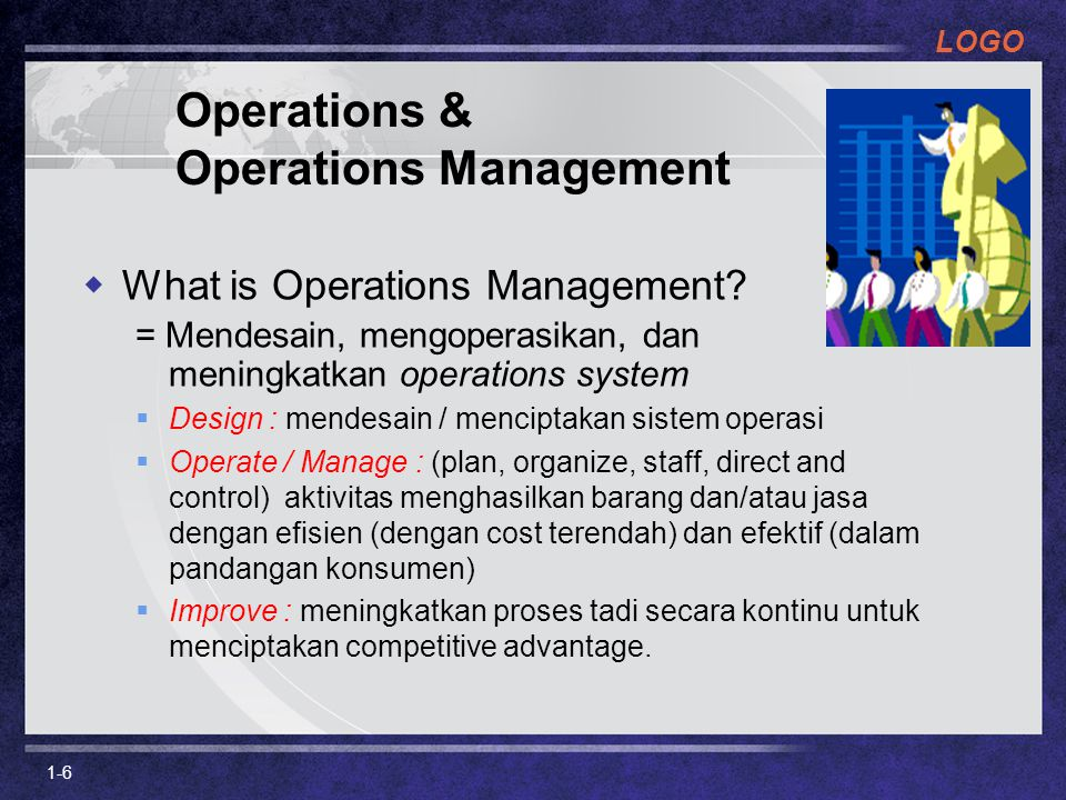 Operations & Operations Management