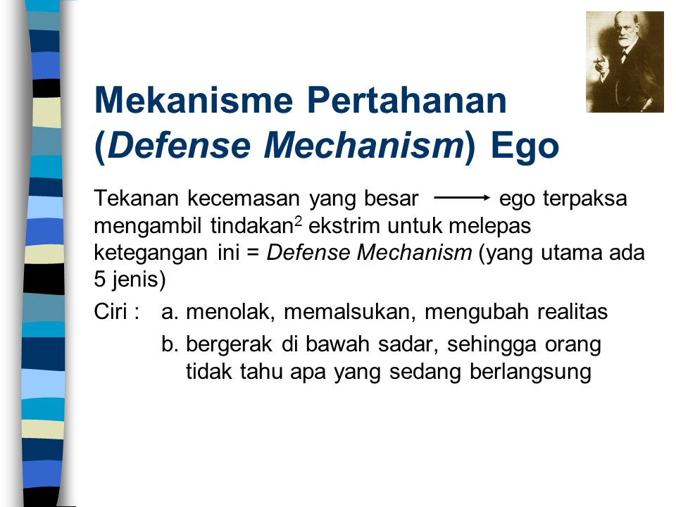 Mekanisme Pertahanan (Defense Mechanism) Ego