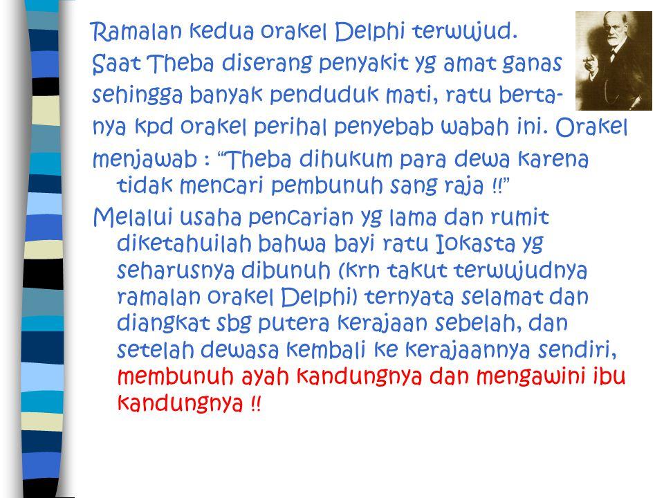 Ramalan kedua orakel Delphi terwujud