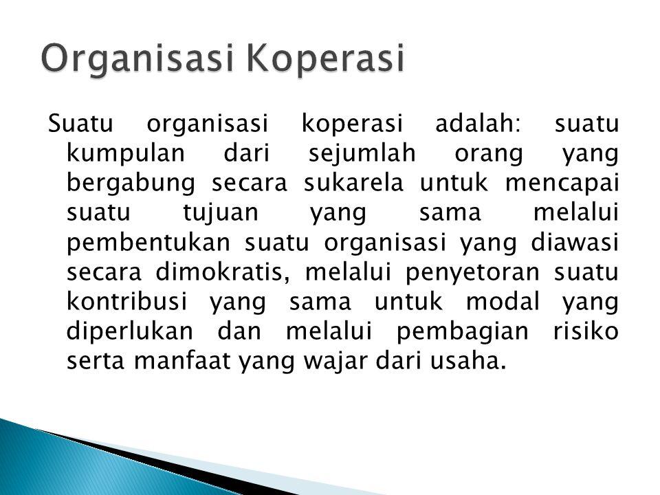 Organisasi Koperasi