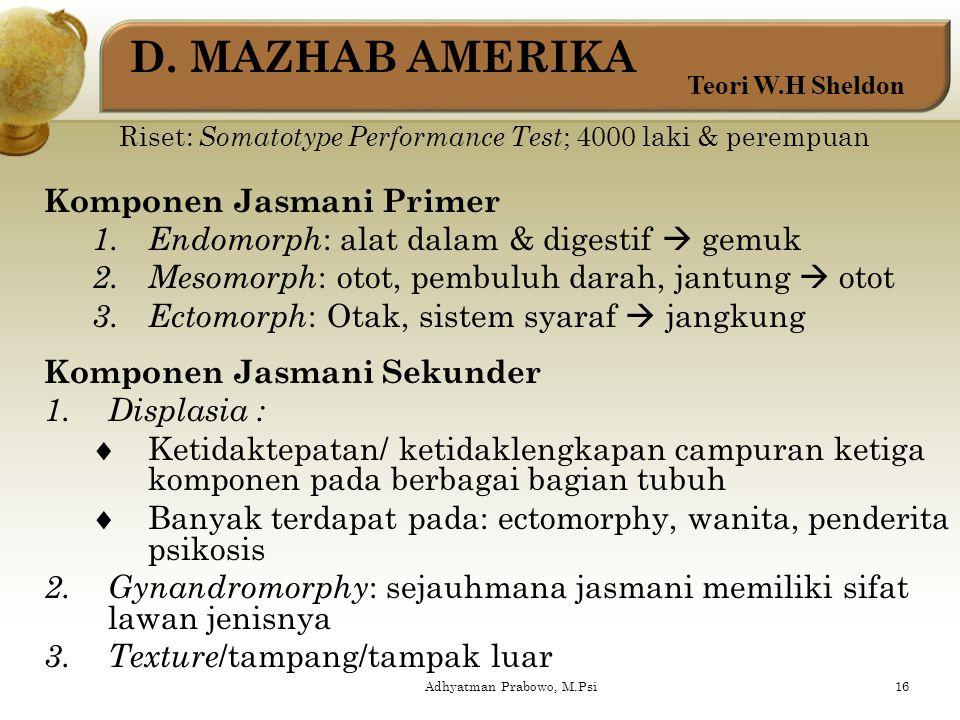 Adhyatman Prabowo, M.Psi