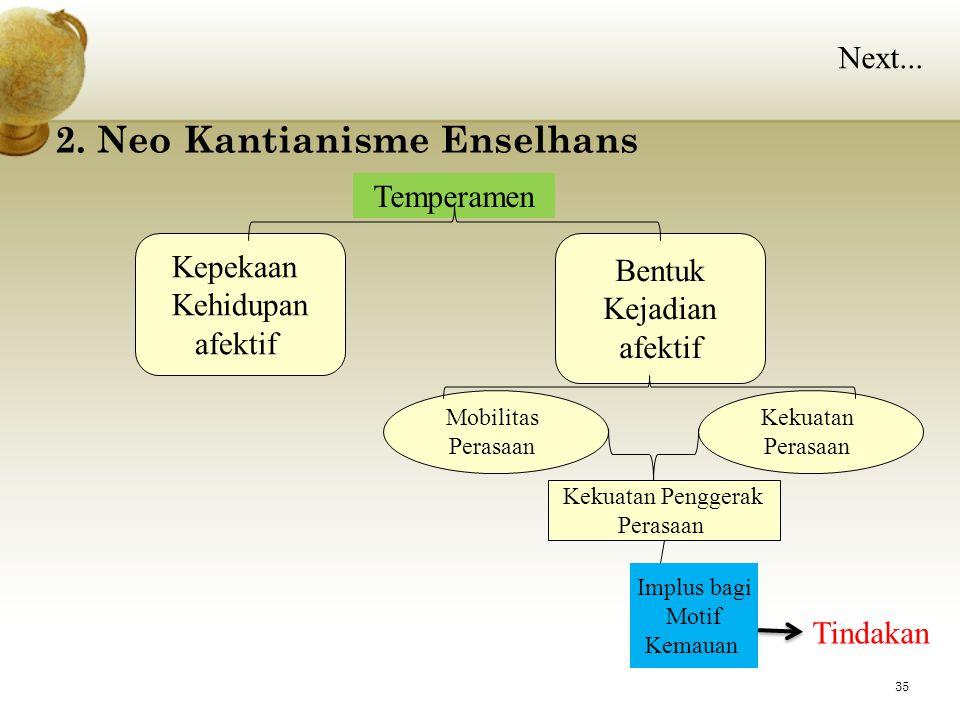2. Neo Kantianisme Enselhans