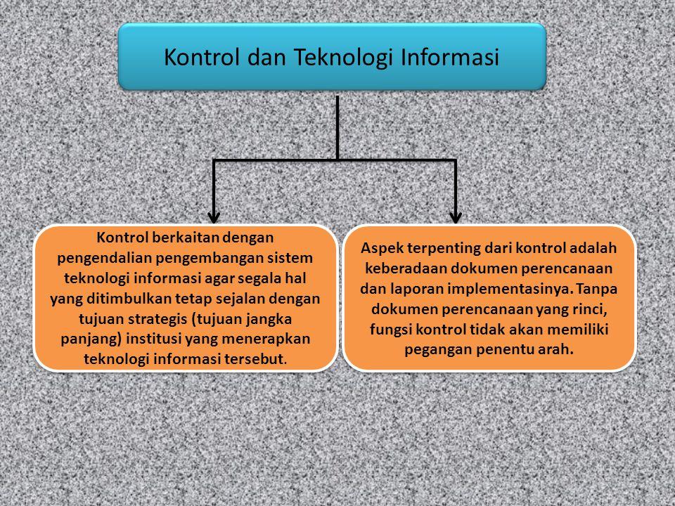 Kontrol dan Teknologi Informasi