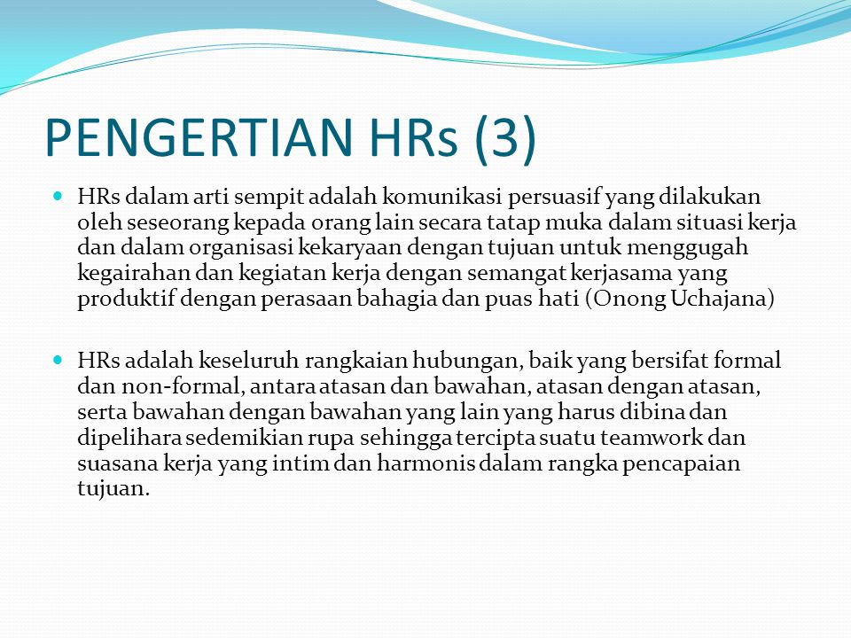 PENGERTIAN HRs (3)