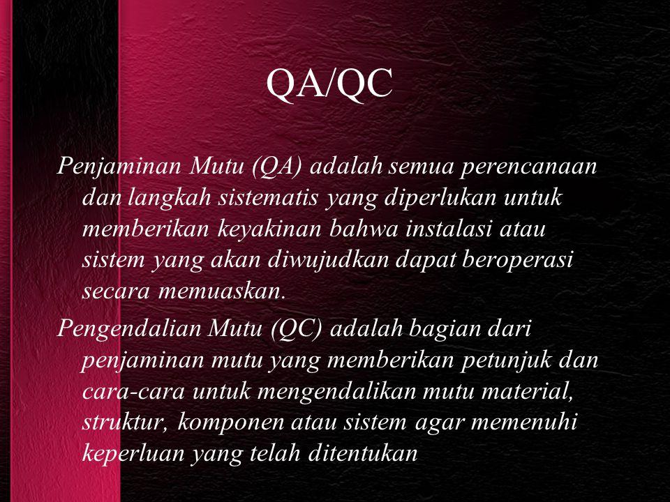 QA/QC