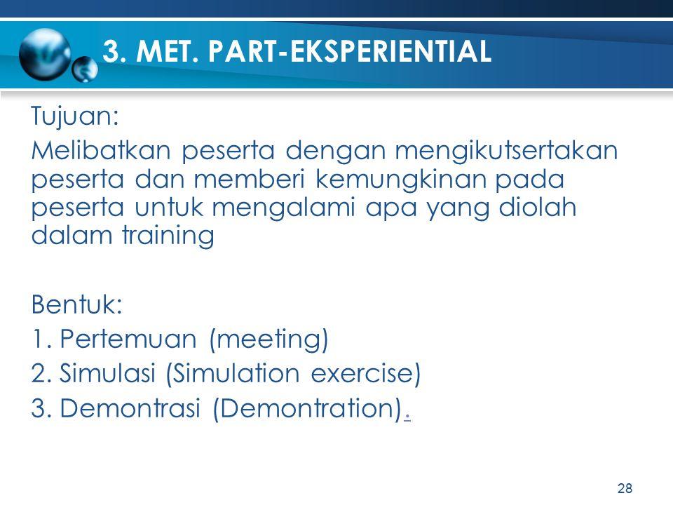 3. MET. PART-EKSPERIENTIAL