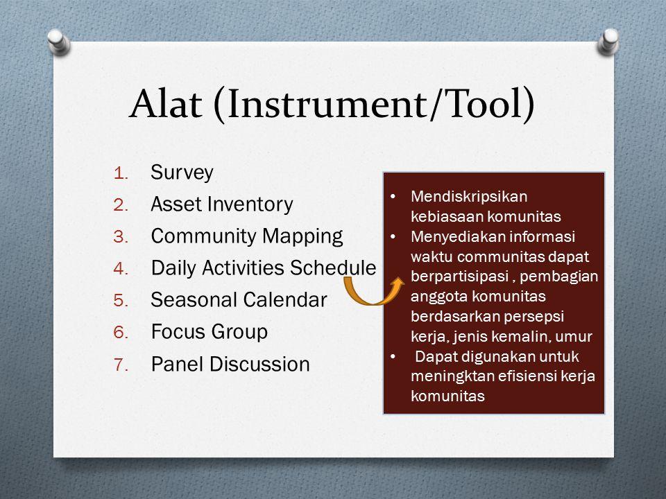Alat (Instrument/Tool)