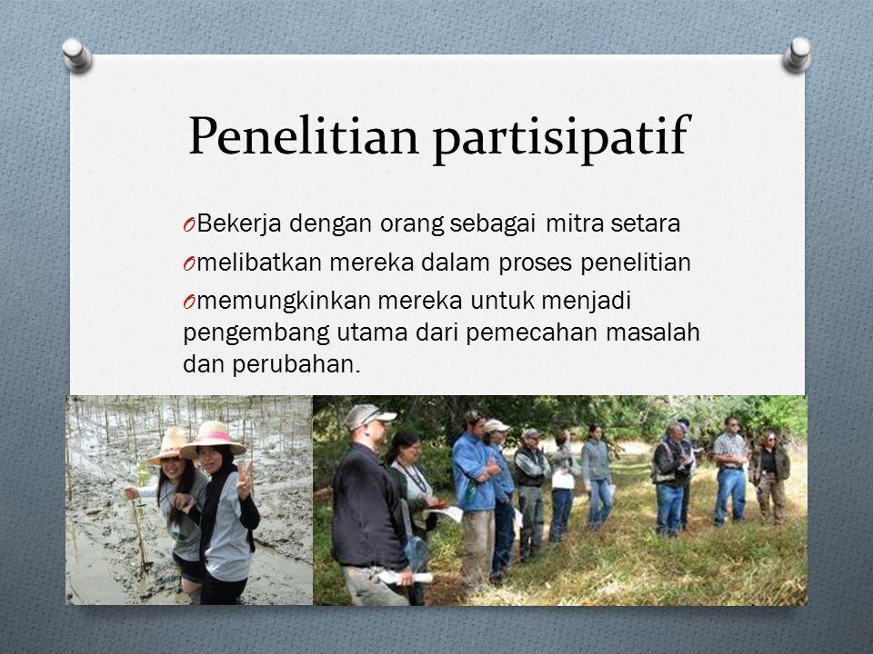 Penelitian partisipatif