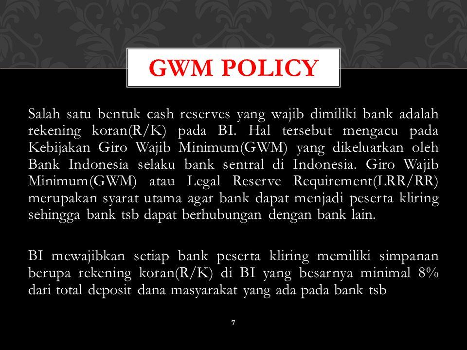 GWM Policy