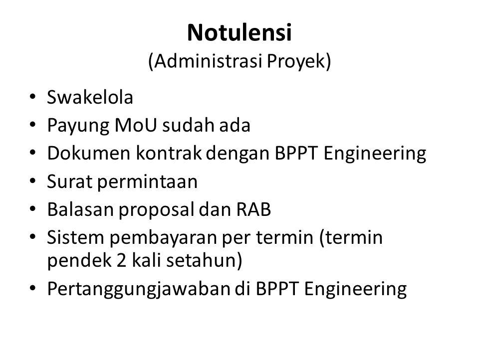 Notulensi (Administrasi Proyek)