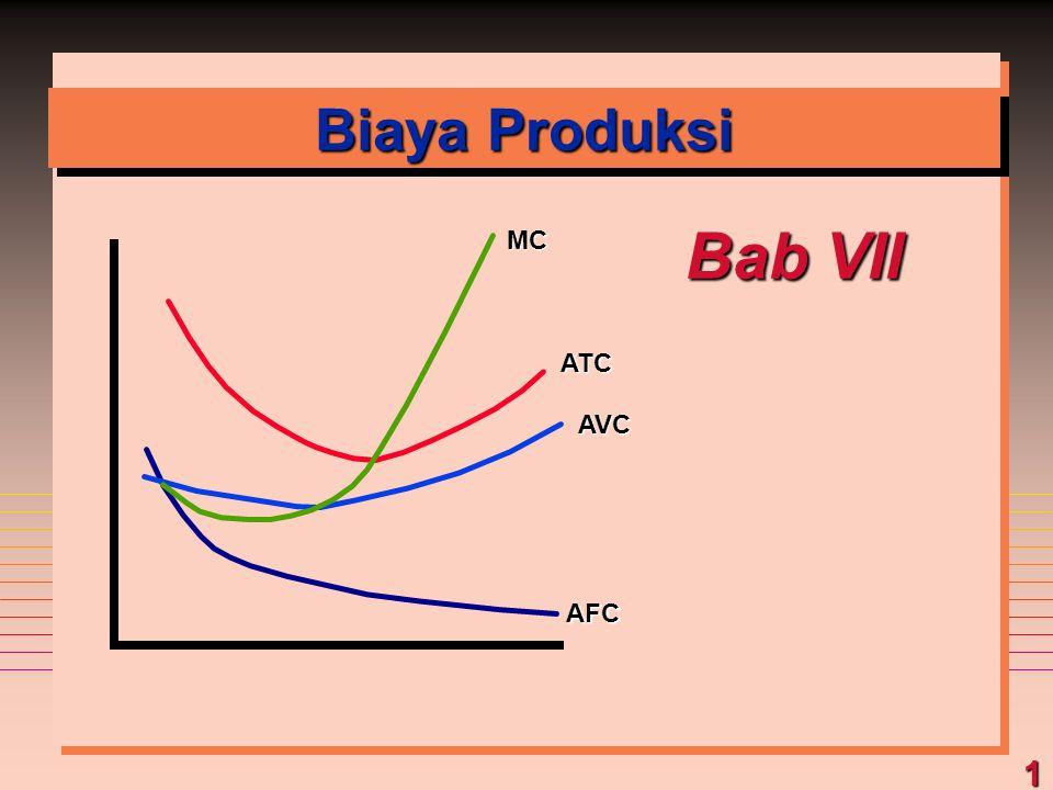 Biaya Produksi Bab VII MC ATC AVC AFC