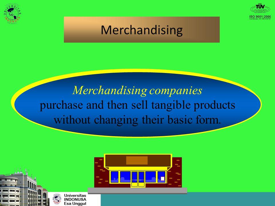 Merchandising Merchandising companies