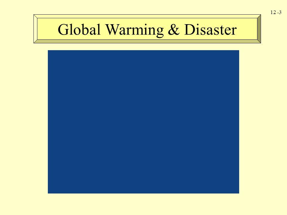 Global Warming & Disaster