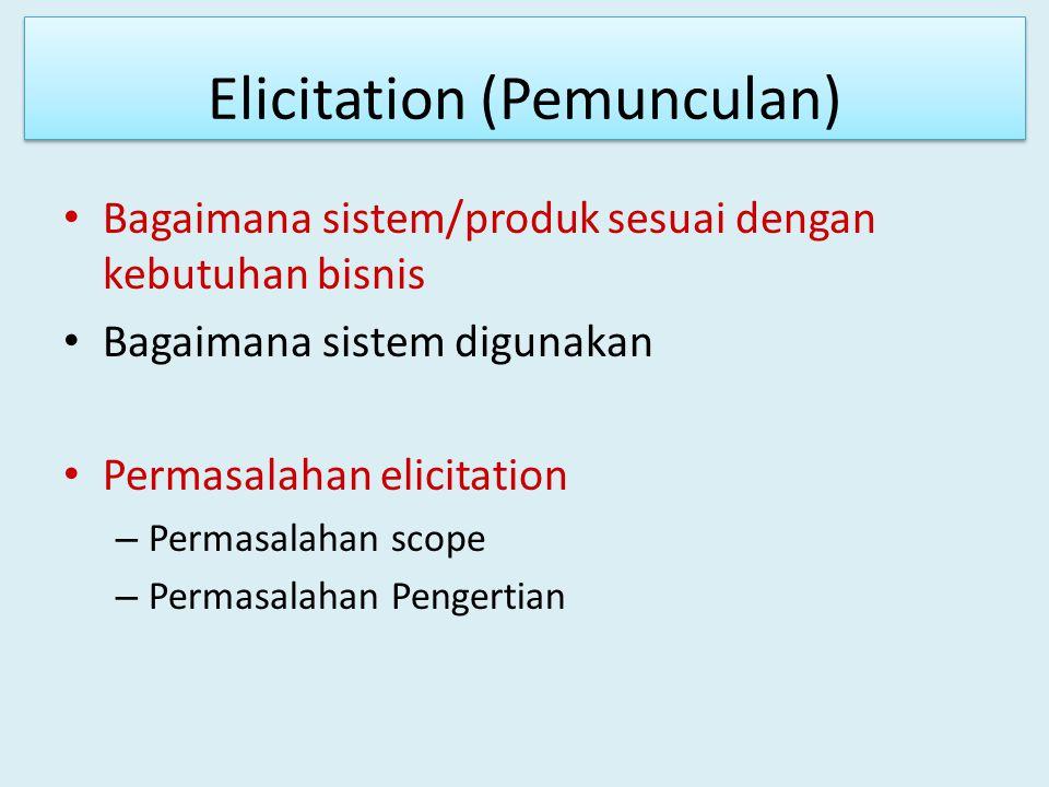 Elicitation (Pemunculan)