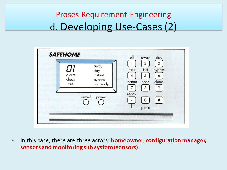 Proses Requirement Engineering d. Developing Use-Cases (2)