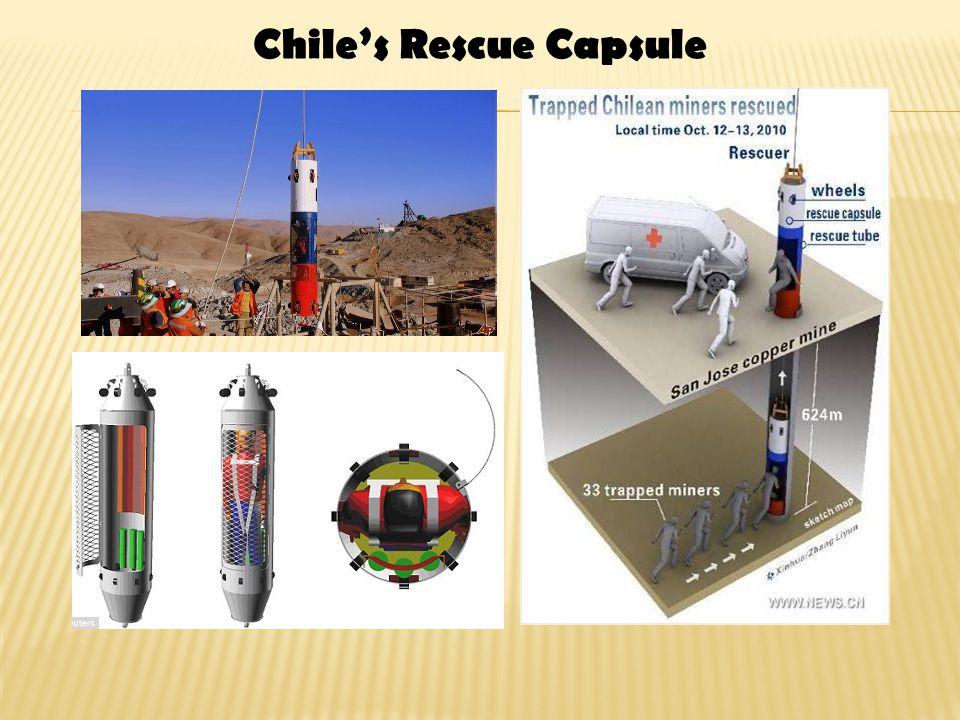 Chile's Rescue Capsule