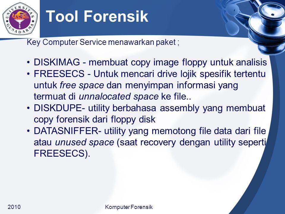 Tool Forensik DISKIMAG - membuat copy image floppy untuk analisis