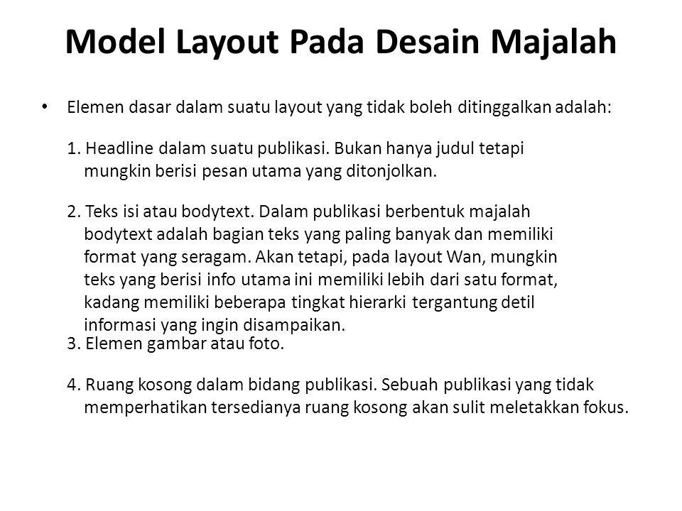 Model Layout Pada Desain Majalah