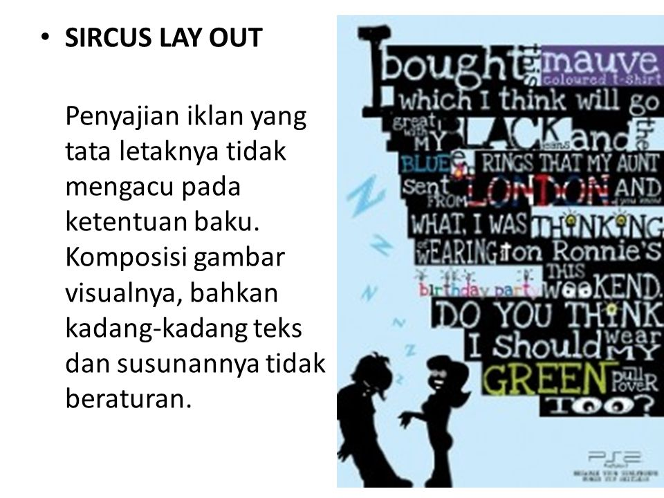 SIRCUS LAY OUT