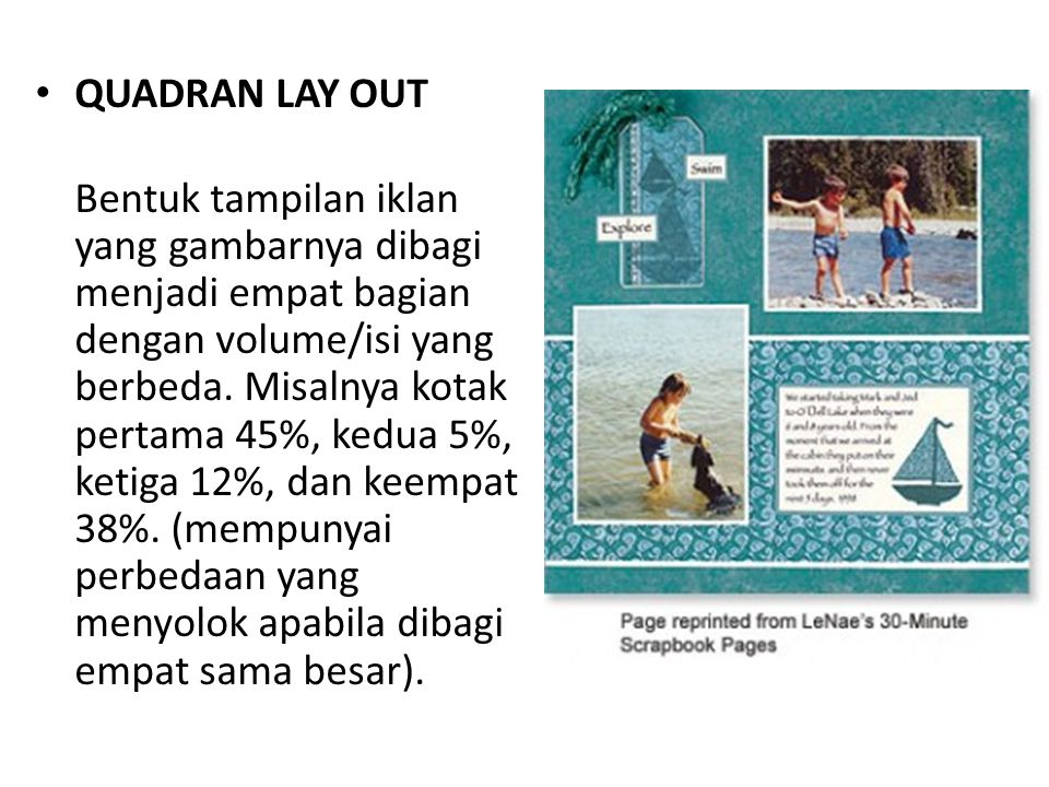QUADRAN LAY OUT