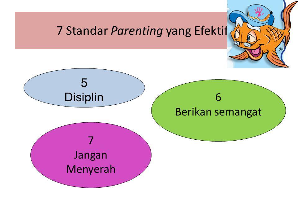 7 Standar Parenting yang Efektif