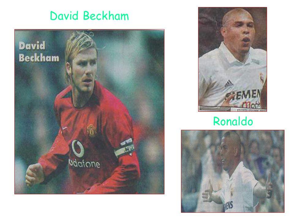 David Beckham Ronaldo